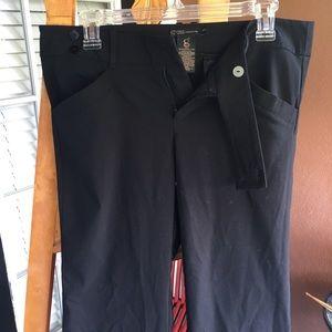Black dress pant